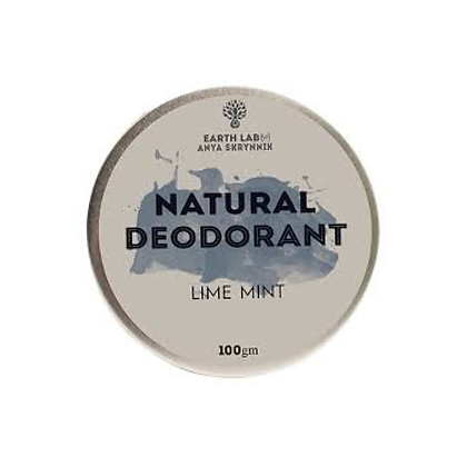 Earth Lab - Lime Mint Natural Deodorant 100g