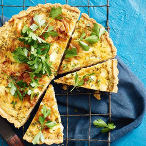 Caramelised Leek and Onion Tart