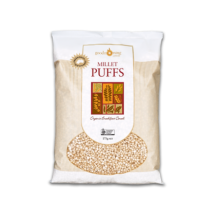 Good Morning Cereals - Millet Puffs 175g NET