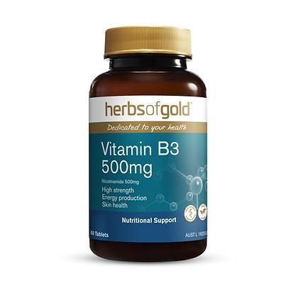 Herbs of Gold - Vitamin B3 500mg 60T