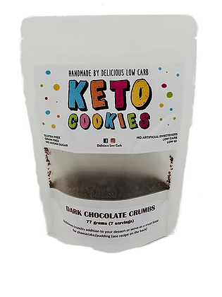 Delicious Low Carb - Dark Chocolate Cookie Crumble