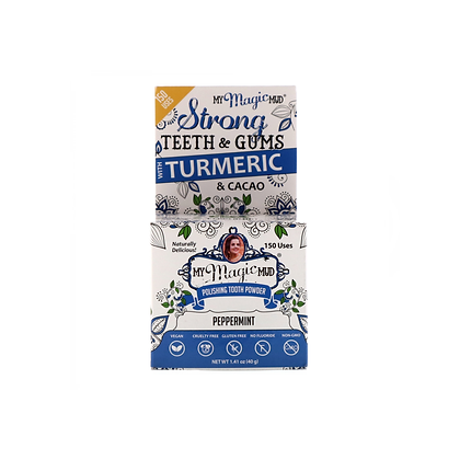 My Magic Mud - Polishing Tooth Powder Peppermint 30g