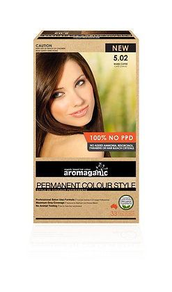 Aromaganic - Permanent Colour Style 5.02 Warm Coffee