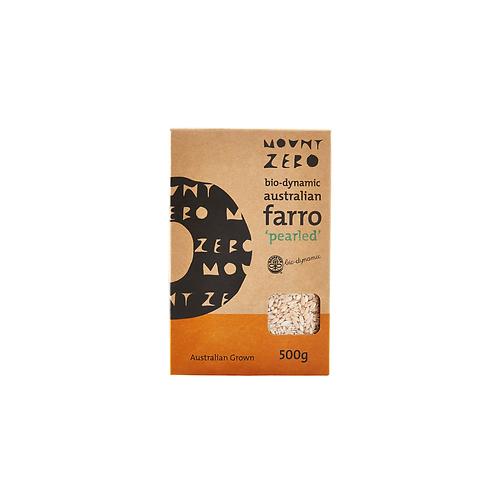 Mount Zero - Pearled Farro 500g
