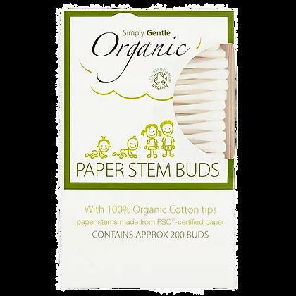 Simply Gentle - Organic Paper Stem Buds (200)