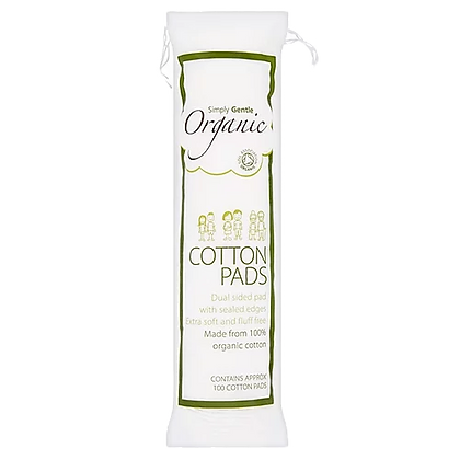 Simply Gentle - Organic Cotton Pads (100)