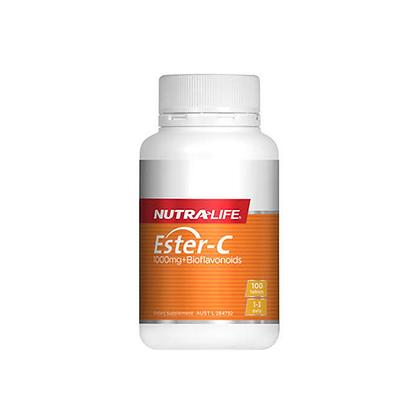 Nutralife - Ester C + Probiotics 60c