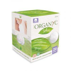 Organyc - Organic Cotton Pads Nursing Pads (24)