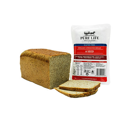 Pure Life Sprouted Bread - 6 Seed GF 1.1kg