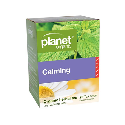 Planet Organic - Calming Organic Tea 25 Bags