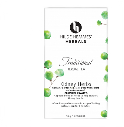Hilde Hemmes Herbals -  Kidney Herbs 50g Herbal Tea