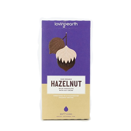Loving Earth - Hazelnut Mylk Chocolate 80g