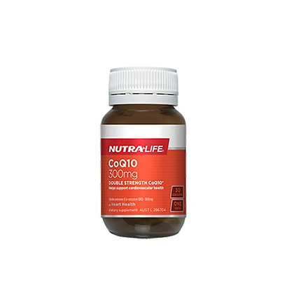Nutralife - CoQ10 300mg Double Strength