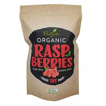 Elgin Organic - Rasberries 350g