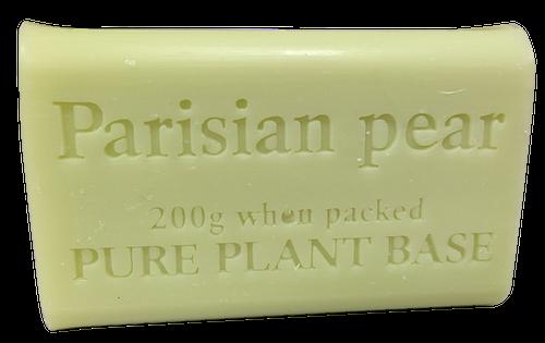 Destination Health - Parisian Pear Pure Plant Oil Soap 200gm