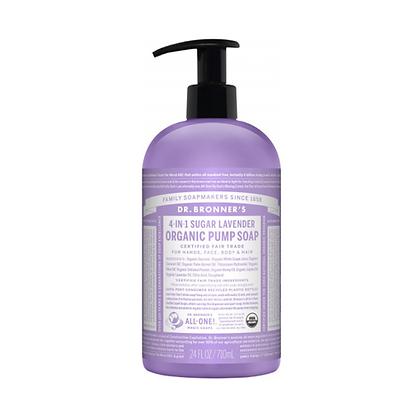 Dr Bronner's - Organic Pump Soap Lavender