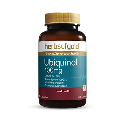 Herbs of Gold - Ubiquinol 100mg