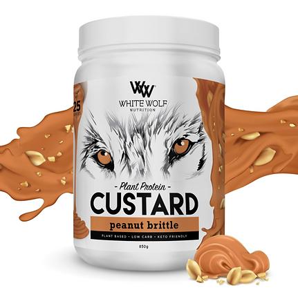 White Wolf - Peanut Brittle Custard Plant Protein