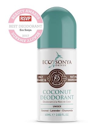 Eco Tan - Coconut Deodorant 60ml