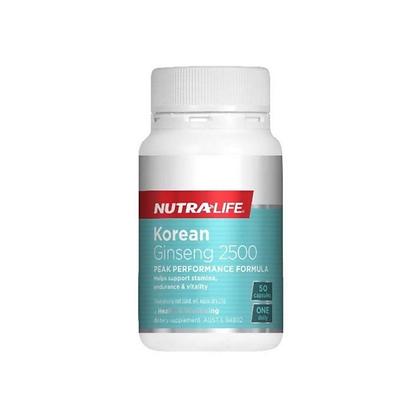 Nutralife - Korean Ginseng 2500 50c