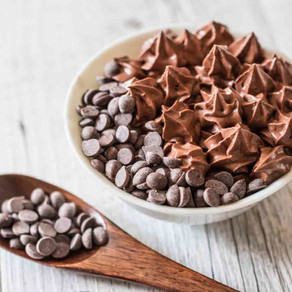 World's easiest creamy chocolate mousse