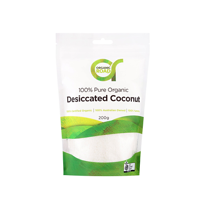 Organic Road - Desiccated Coconut 200g