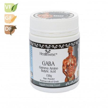 Health Wise - GABA Gamma Amino Butyric Acid