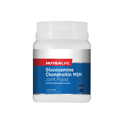 Nutralife - Glucosamine Chondroitin MSM Joint Food 1kg