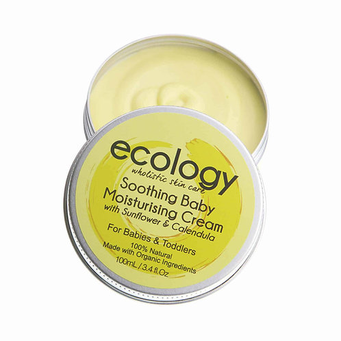 Ecology - Soothing Baby Moisturising Cream with Sunflower and Calendula