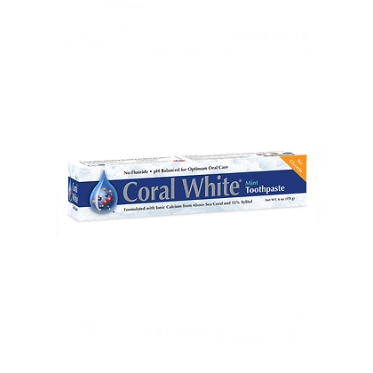 Coral White - Toothpaste Mint 170g