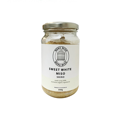 Meru Miso - Fresh Sweet White (Shiro) Miso 350g