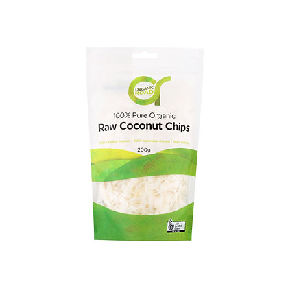 Organic Road - Raw Coconut Chips 200g