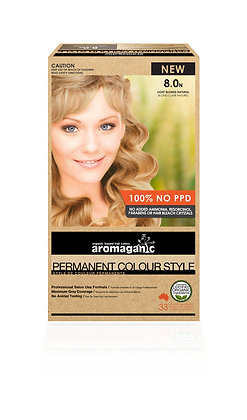 Aromaganic - Permanent Colour Style 8.0N Light Blonde (Natural)