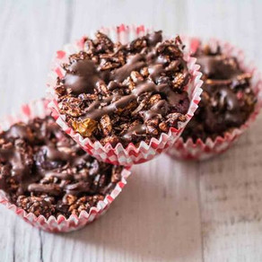 Chocolate Berry Crackles