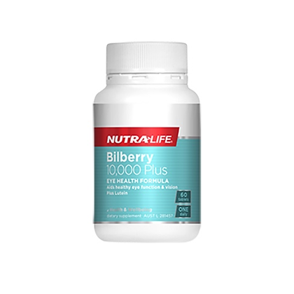 Nutralife - Bilberry 10,000+ Lutein Complex