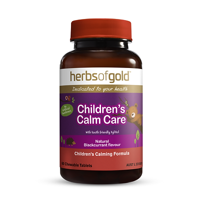 Herbs of Gold - Children's Calm Care (chewable) 60T