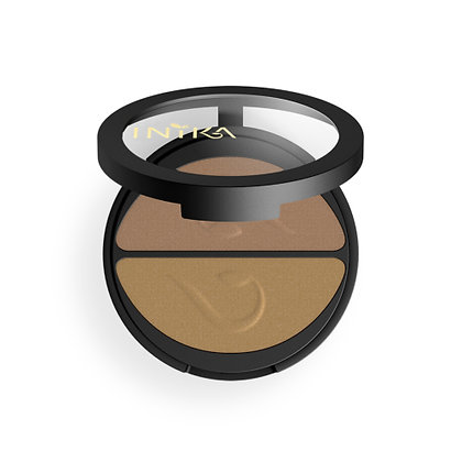 Inika - Pressed Mineral Eye Shadow Duo 3.9g