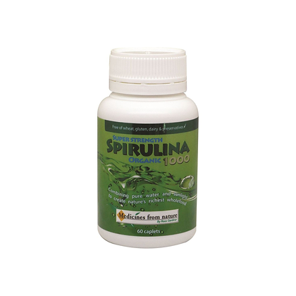 Medicines From Nature - Super Strength Spirulina 1000 (Caps)