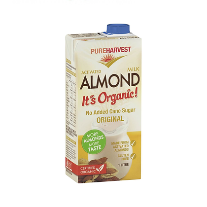 Pure Harvest - Organic Almond Milk 1ltr