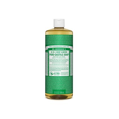 Dr Bronner's - Pure Castile Liquid Soap Almond