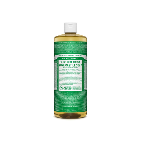 Dr Bronner's - Pure Castile Liquid Soap Almond