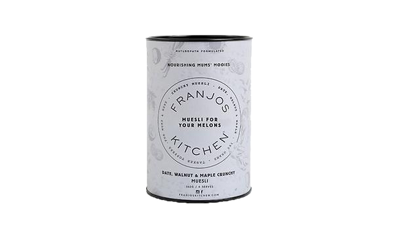 Franjo's Kitchen - Tanker Topper Muesli Date, Walnut and Maple
