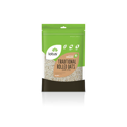 Lotus - Rolled Oats 1kg