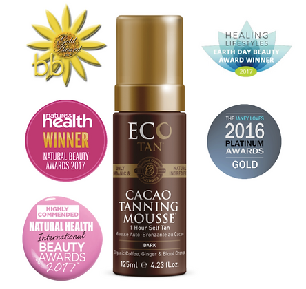 Eco Tan - Cacao Tanning Mousse 125ml