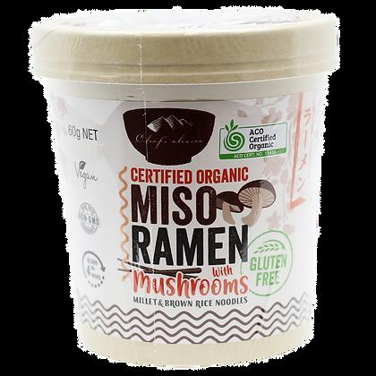 Chefs Choice Dessert - Gluten Free Mushroom Miso Ramen 60g