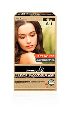 Aromaganic - Permanent Colour Style  5.43 Copper Blonde