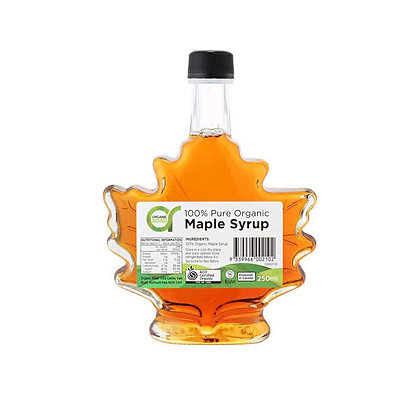 Organic Road - Maple Syrup (Leaf Bottle) 250ml