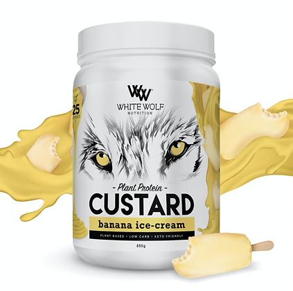 White Wolf - Banana Ice Cream Custard Plant Protein