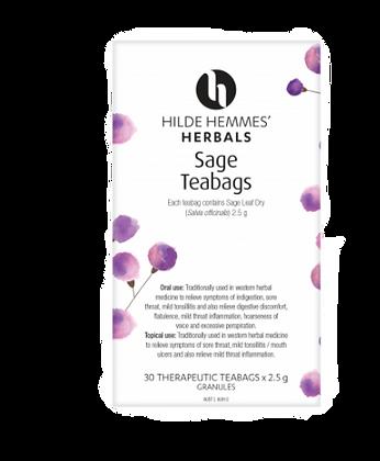Hilde Hemmes Herbals -  Sage 30 Teabags