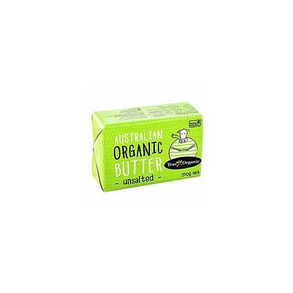 True Organic - Australian Organic Unsalted Butter 250g